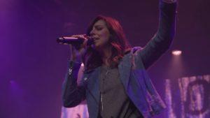 Meredith Andrews leading worship